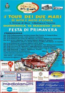 Locandina 4° Tour Dei Due Mari 15 Maggio 2015